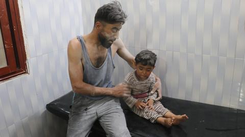 Syrians voice anger at international silence amid regime assault on Idlib