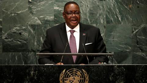 Malawi's Mutharika narrowly wins presidency for another term