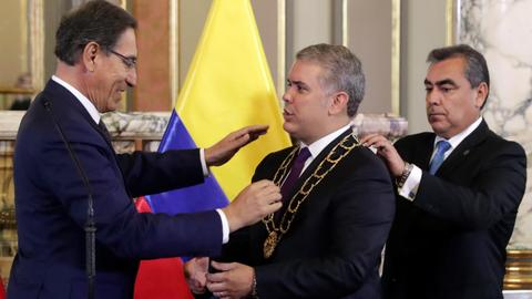 Colombia, Peru face worst migrant crisis - Colombian president