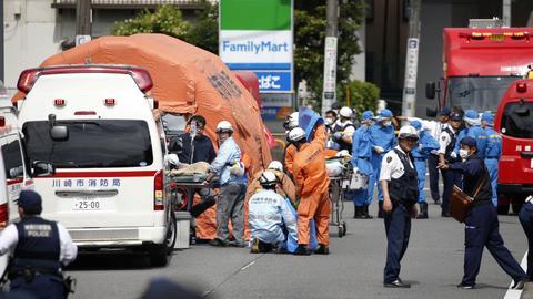 Thirteen schoolgirls among those wounded in Japan stabbing