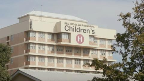 Children run radio station at South African hospital