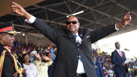Peter Mutharika sworn in as Malawi's president