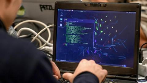 Virus-packed laptop sells for over $1.3 million