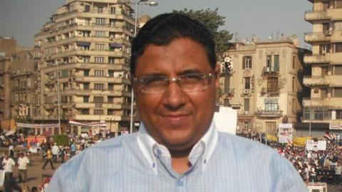 Journalist sent back to Egyptian jail just as he was set to be released