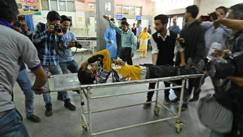 Indian troops kill one, wound 70 in Kashmir clashes