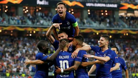 Chelsea clinch UEFA Europa League cup