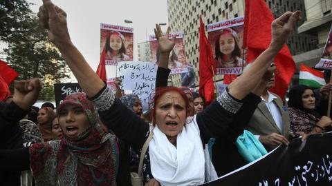 After a young girl's murder, Pakistan seethes with fury