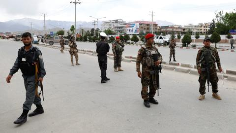 Six killed in suicide blast at Kabul military academy