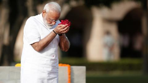 India's Modi takes oath to start second term amid faltering economy