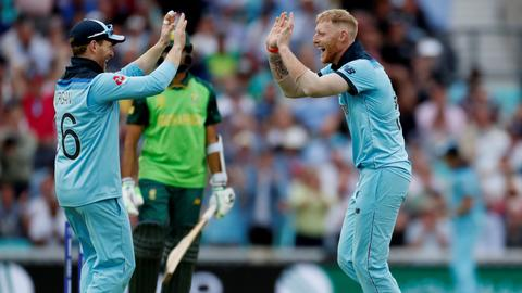 Cricket: England beat South Africa in Cricket World Cup opener