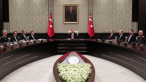 Turkey's top security council resolves to fight all terror groups