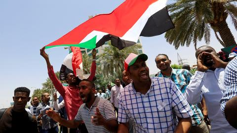Sudan protesters threaten military with civil disobedience