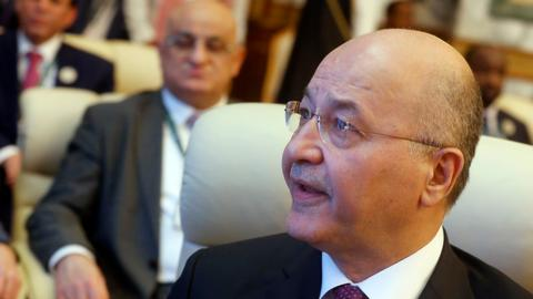 Iraq leads with neutrality in a deeply partisan Middle East
