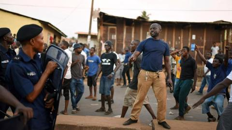 Clashes, arrests after Sierra Leone court unseats 10 opposition MPs