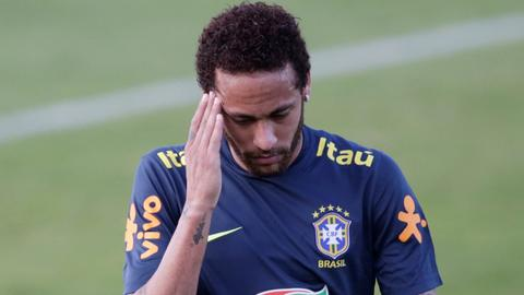 Woman accuses Neymar of rape, father says player set up