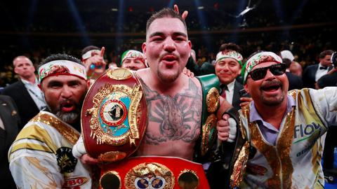 Boxing: Ruiz shocks Joshua for three heavyweight world titles