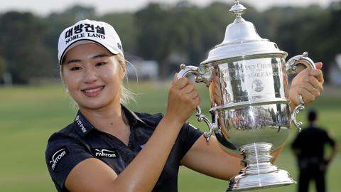 South Korea's Lee6 wins US Women's Open