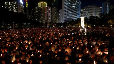 Taiwan urges China to 'repent' on Tiananmen anniversary eve
