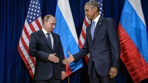 Did the Obama administration work with Russia to prevent Assad's fall?