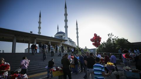 In pictures: Muslims celebrate Eid al Fitr