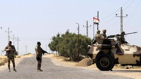 Militant attack on security checkpoint kills at least 8 in Egypt's Sinai
