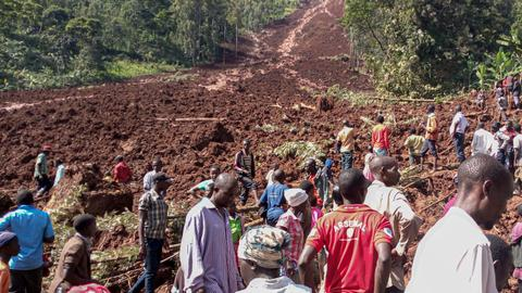 Six dead, dozens missing in Uganda landslides - Red Cross