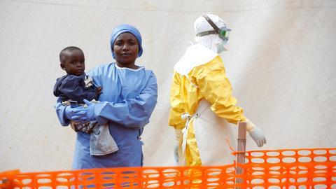 Uganda declares first Ebola case outside outbreak from DRC