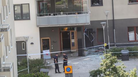 At least 25 injured as blast hits apartment buildings in Sweden