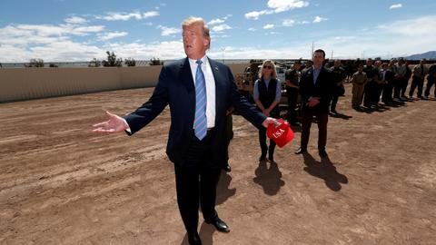 Trump says deal possible with Mexico in migration row