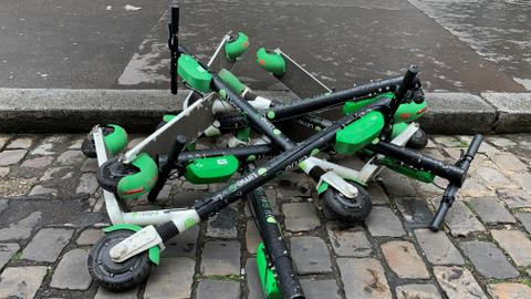 Paris cracks down on electric scooters