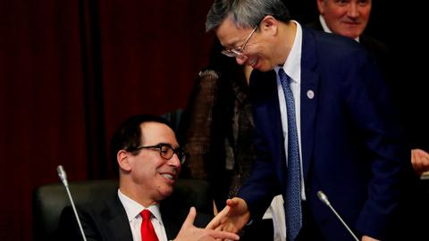 China-US talk trade on sidelines of G-20 finance gathering