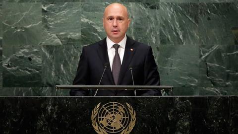 Moldova acting president calls snap election