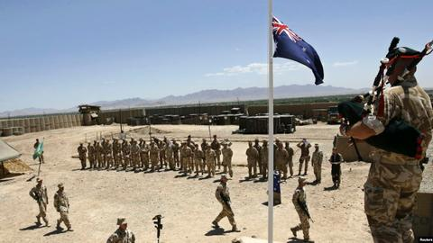 New Zealand calls time on non-combat mission in Iraq