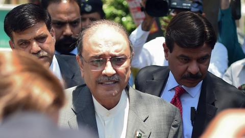 Ex-Pakistan president Zardari arrested over graft charges