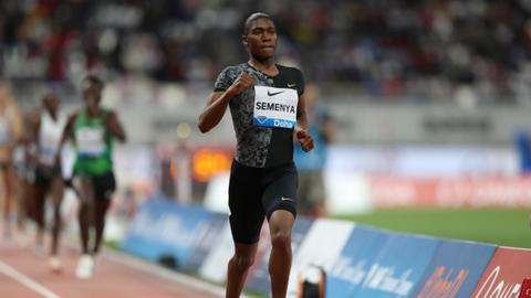 Semenya named in South African world championship team
