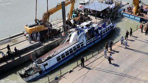 Four more bodies recovered from Budapest boat tragedy