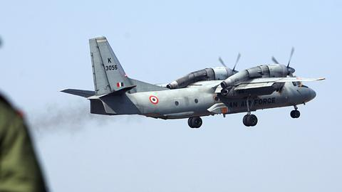 India finds wreckage of military plane missing with 13 on board