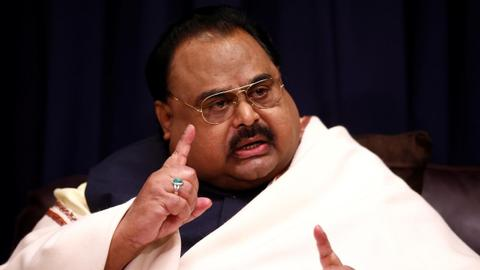 Pakistan MQM founder Altaf Hussain arrested in London