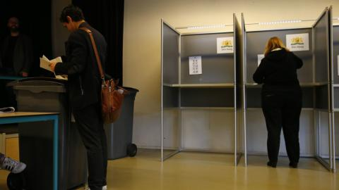 Voting underway in Netherlands election