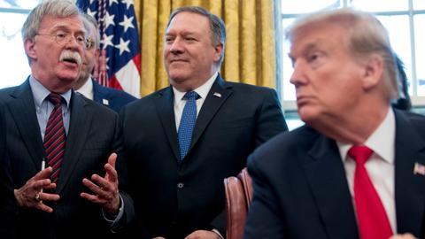 Trump's new Iran strategy: fire Bolton and engage international mediators?