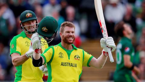 Warner century sinks Pakistan as Australia win by 41 runs