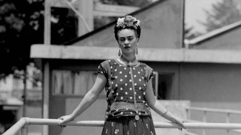 Mexico finds what may be historic recording of Frida Kahlo