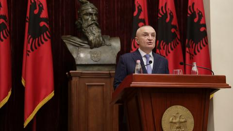 Albania's parliament to vote on ousting president