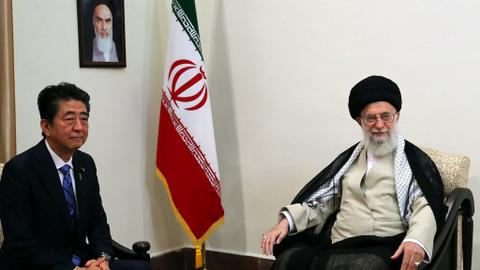 Khamenei tells Abe he has no reply to message from Trump