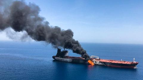 Who stands to gain from the tanker attacks in the Gulf?
