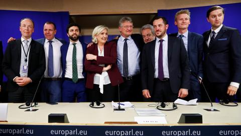 France's Le Pen unveils new far-right European Parliament group
