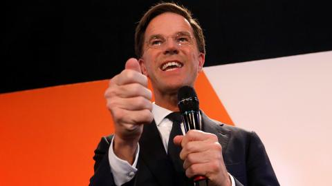 PM Rutte headed for big win over Wilders in Dutch elections