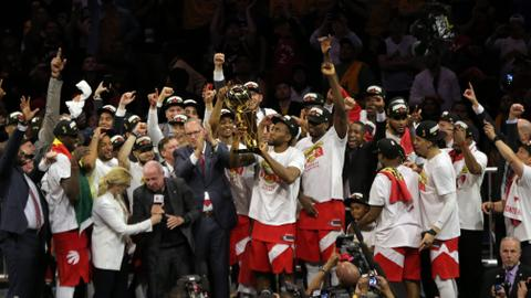 Raptors beat Warriors to win their first NBA title