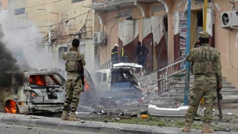 Car bomb blast kills at least eight, injures 16 in Somalia capital