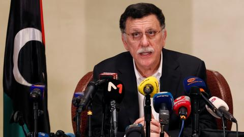 Sarraj unveils 'initiative' to end Libyan 'crisis'